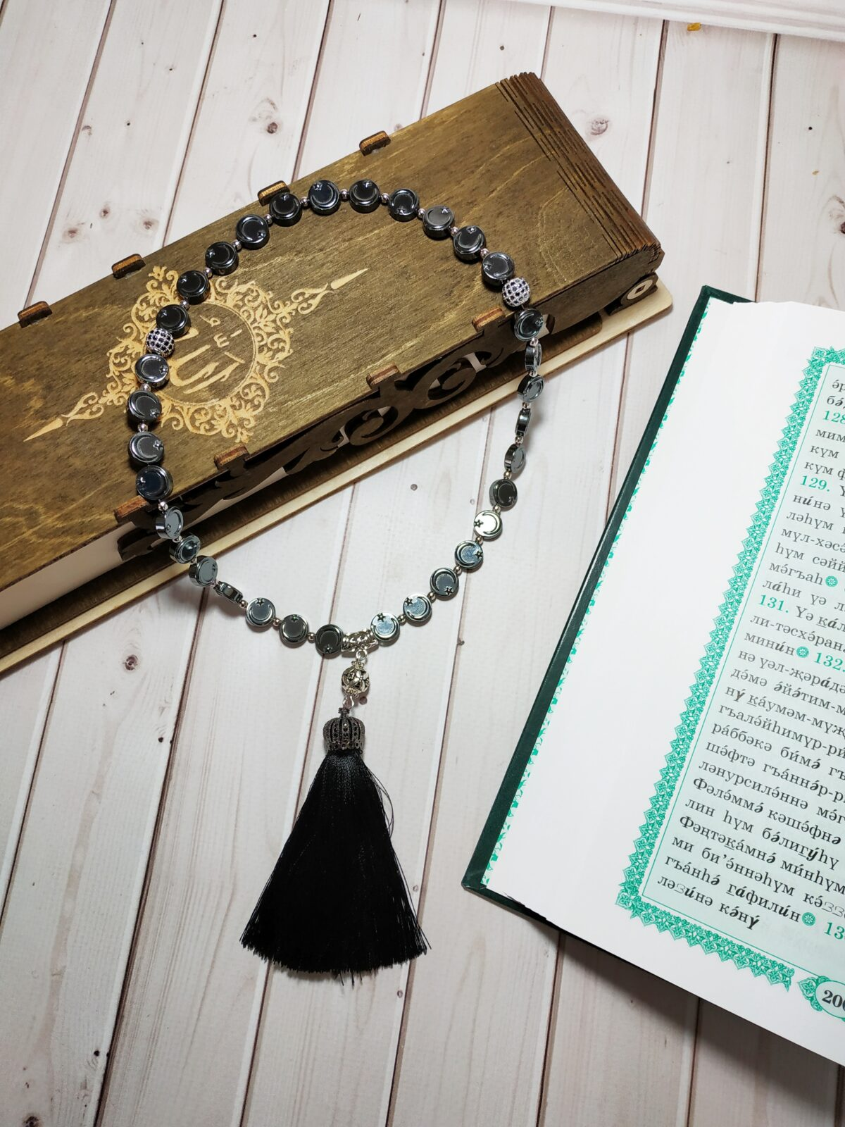 Красивые мусульманские четки