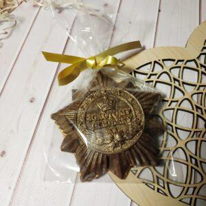 Шоколадная фигура Медаль
