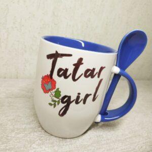 Татарская кружка Tatar girl