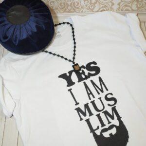 мусульманская мужская футболка