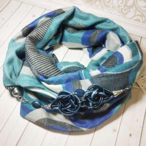 шарф кашемир