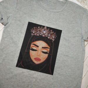 женская мусульманская футболка