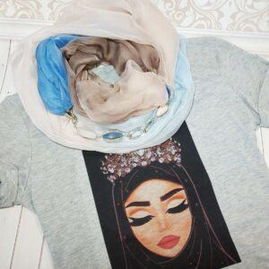 модный шелковый платок