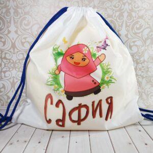 Именной рюкзак ребенку