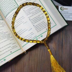 Янтарные мусульманские четки